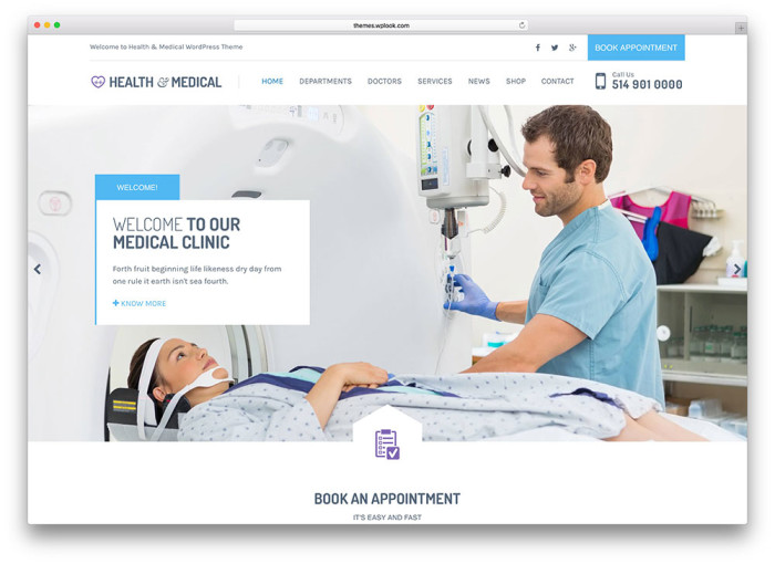 Hospital WordPress Themes Best Medical Wordpress Themes • Neoxica™
