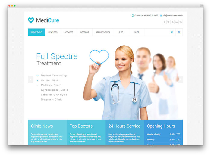 website-design-for-hospital-and-clinic