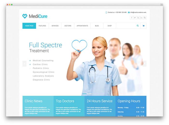 Best Medical Wordpress Themes • Neoxica™