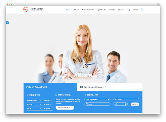 website for doctors - Khafre