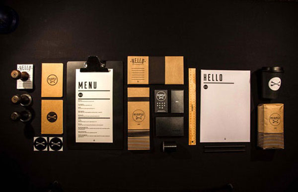 Neoxica tasty restaurant cafe branding inspiration