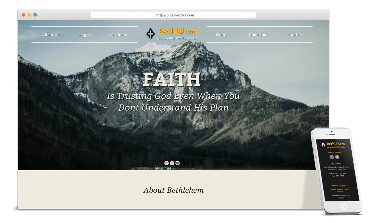 best-wordpress-theme-for-church