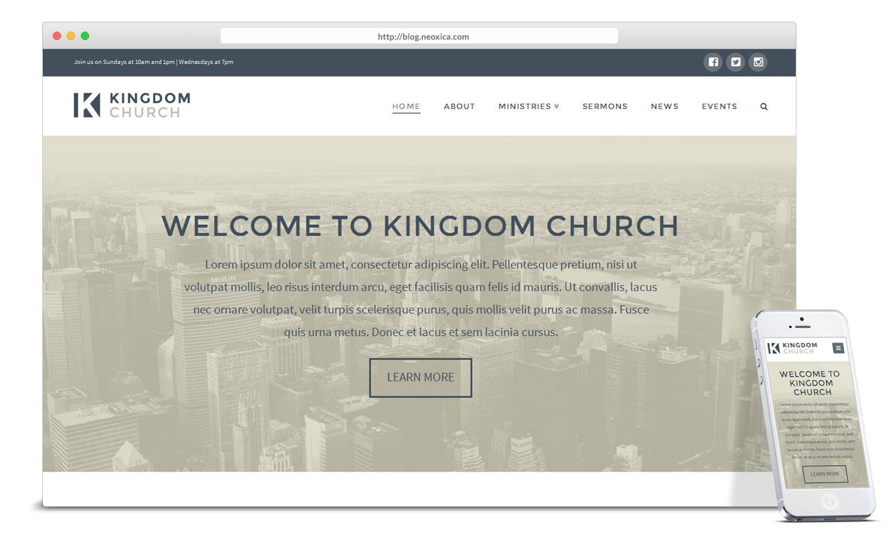 church-and-charity-wordpress-theme