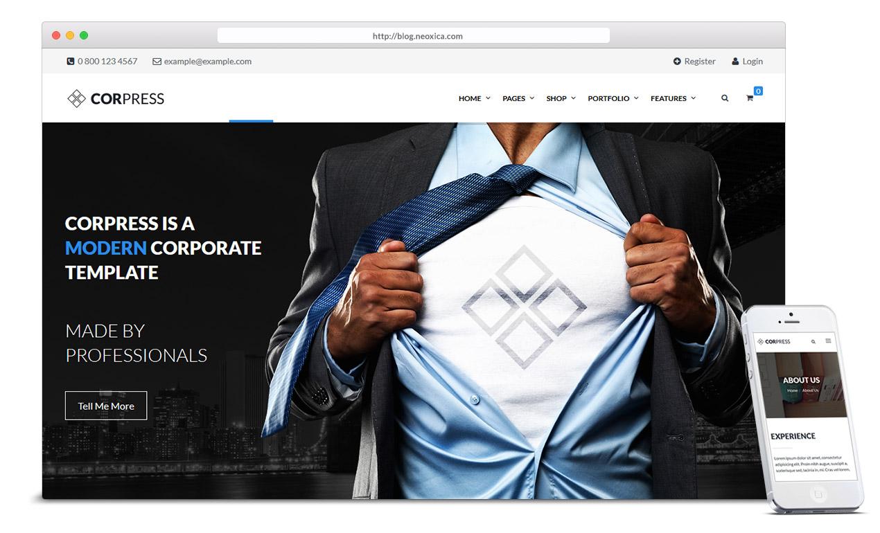 corporate-web-template