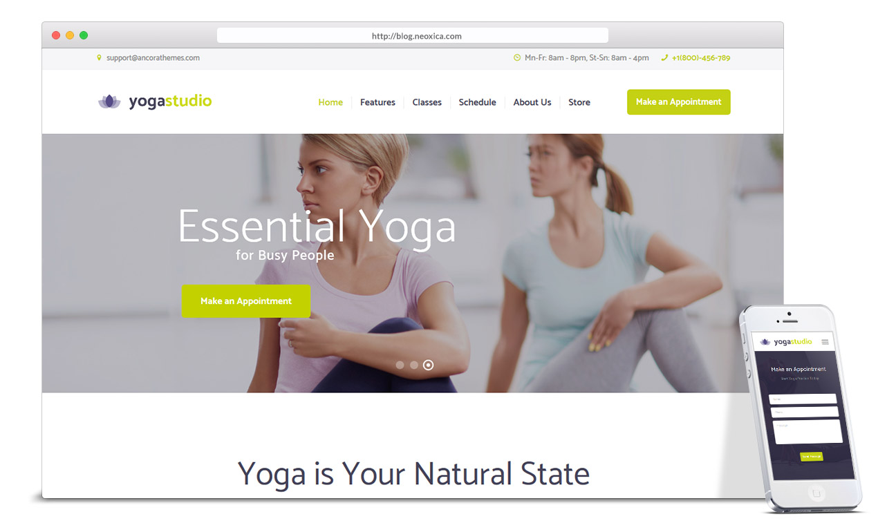 clean-yoga-web-design