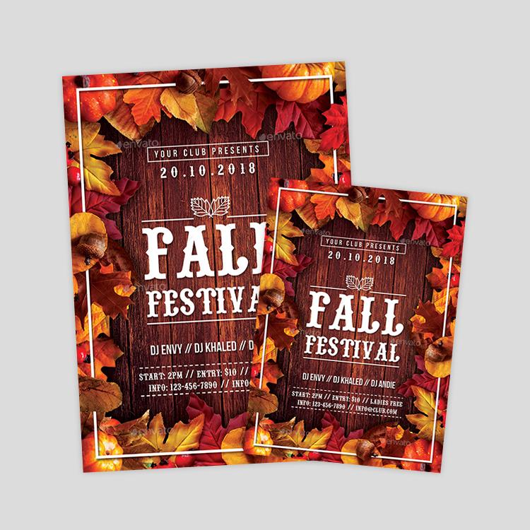 Neoxica • 15+ Autumn Flyer Designs & Templates