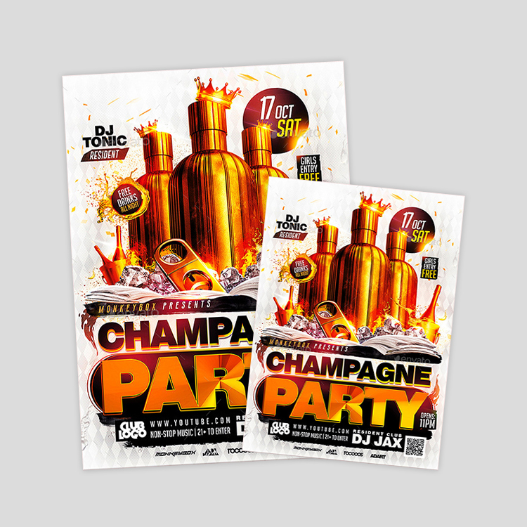 flyer-champagne-party