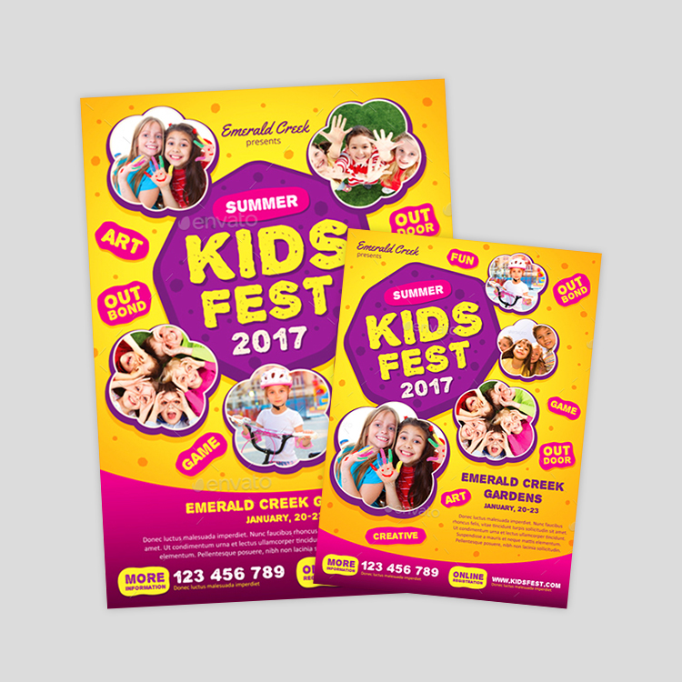 kids-festival-flyer-design