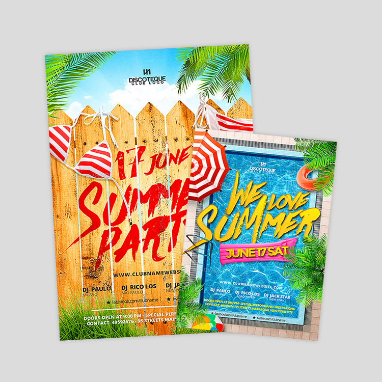 summer-flyer-design