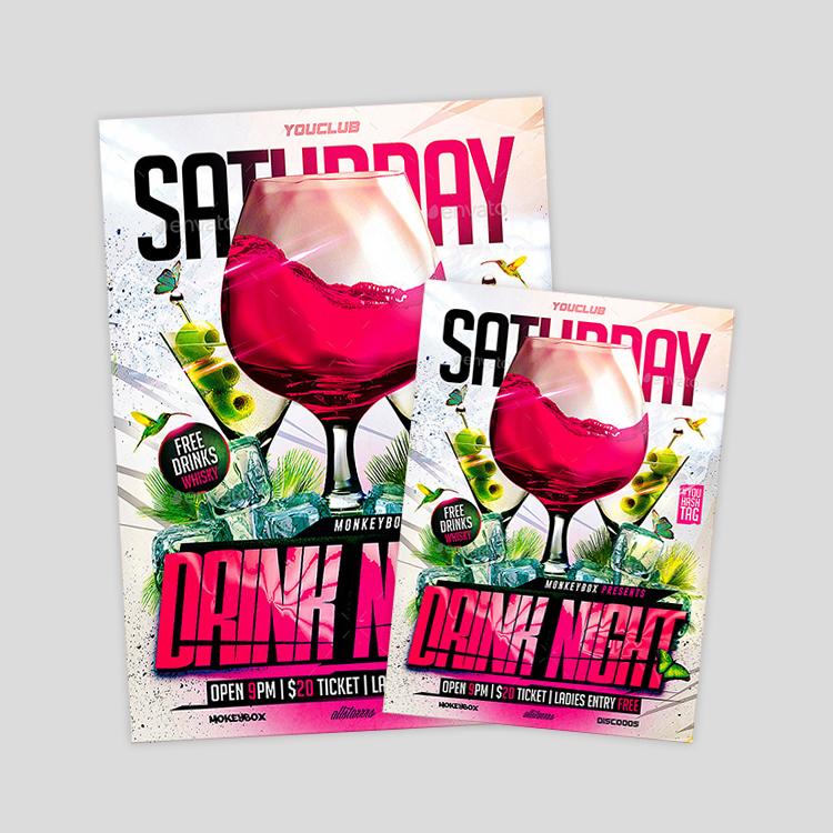 cocktails-party-flyer-design