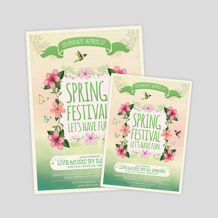 beautiul-spring-flyer-design