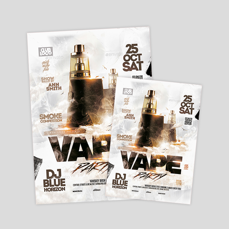 vape-flyer-design