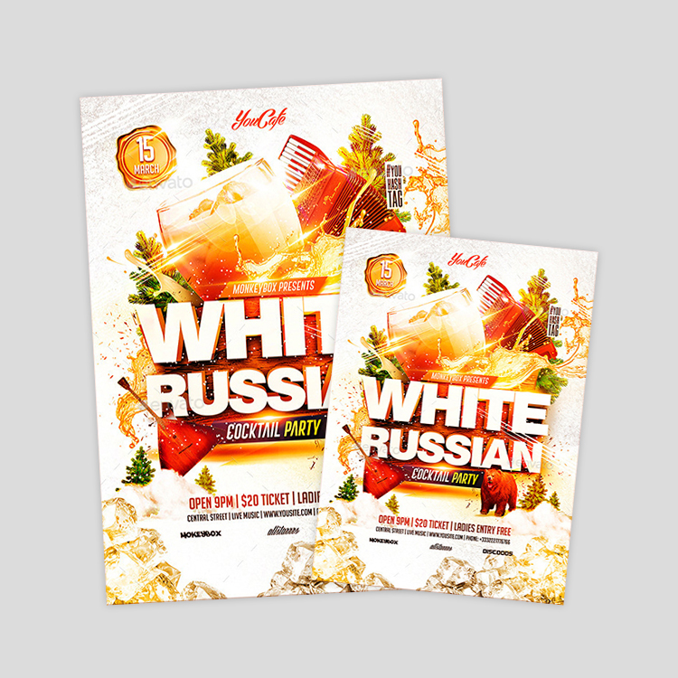 white-russian-cocktails-party