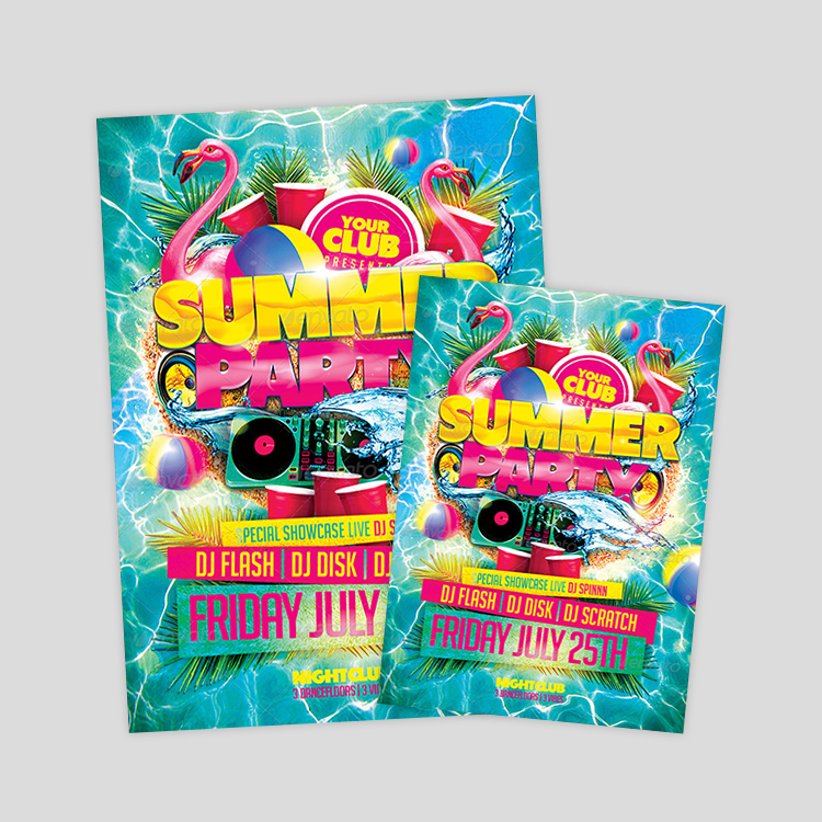 summer-party-flyer-design