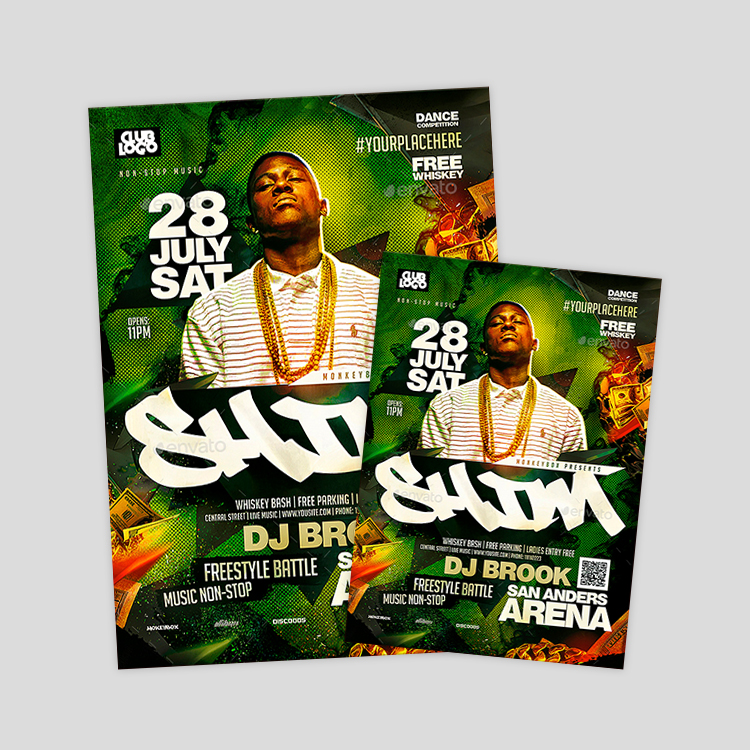 hiphop-psd-flyer-design-tempate