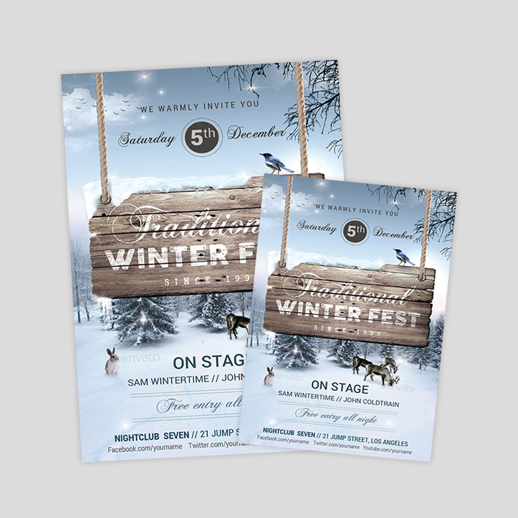 winter-festival-psd-flyer-templates
