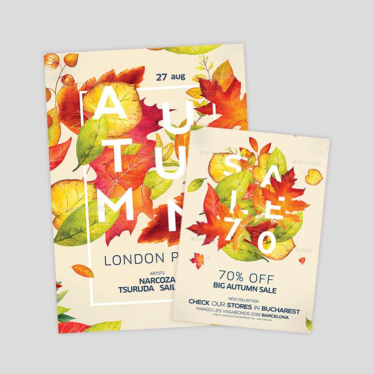 Neoxica 15 Autumn Flyer Designs Templates