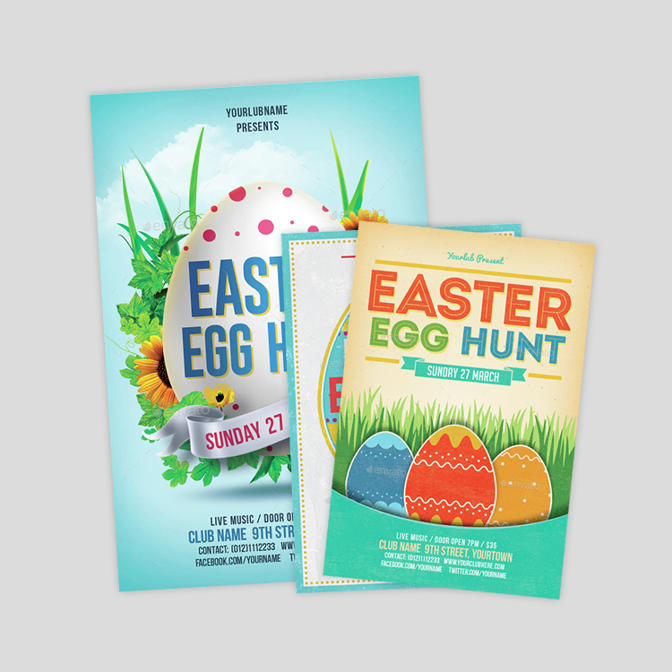 easter-egg-hunt-poster-designs