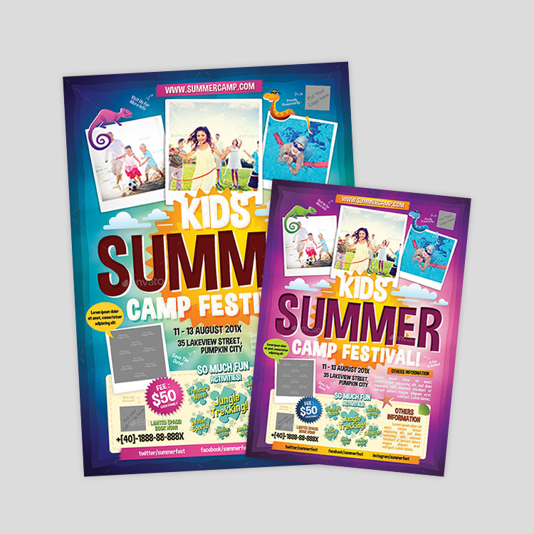 kids-summer-camp-flyer-designs