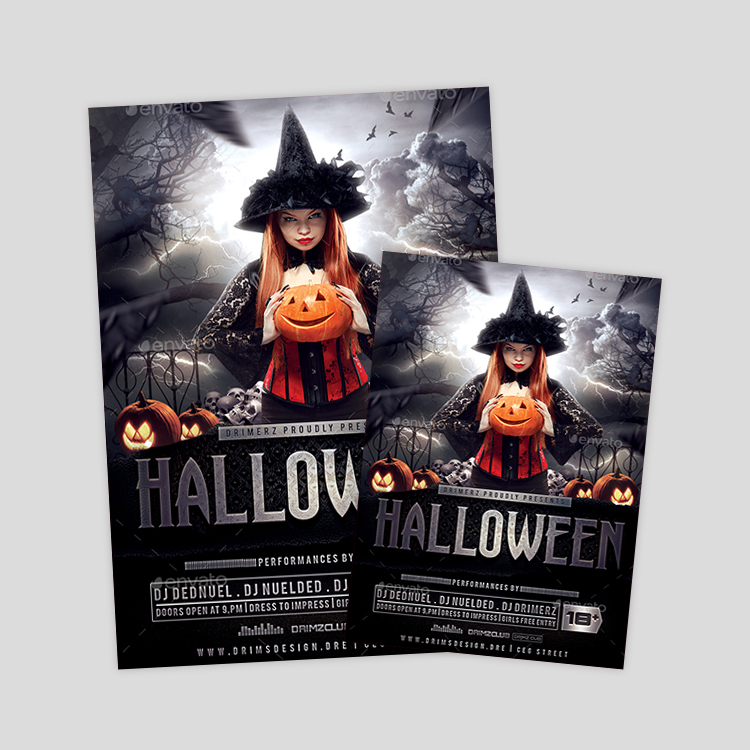 kids-halloween-psd-flyer-design-template