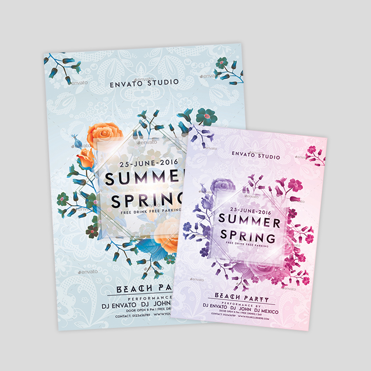 summer-spring-flyer-design
