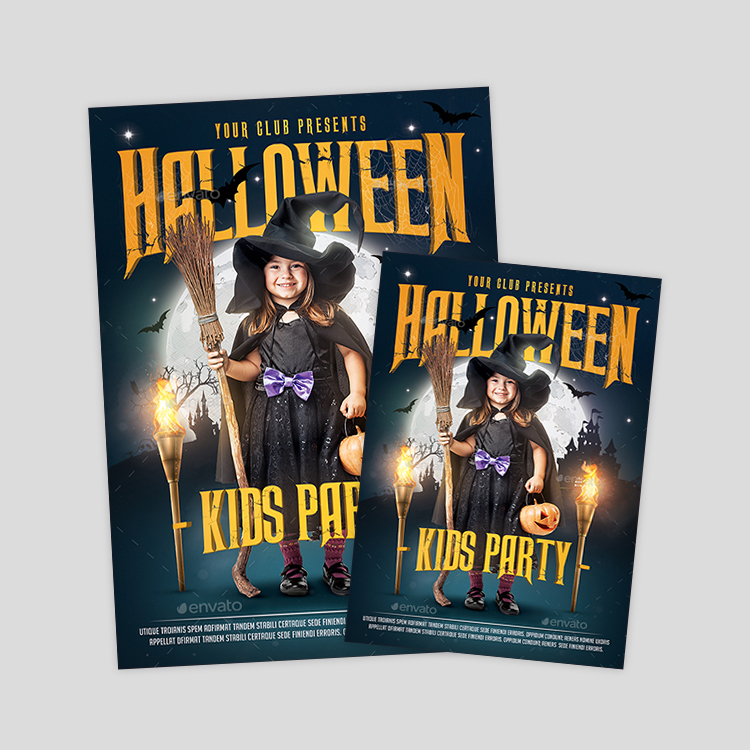 halloween-party-poster-design