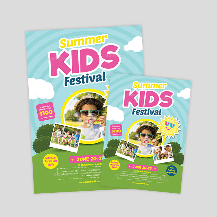 happy-kids-flyer-design