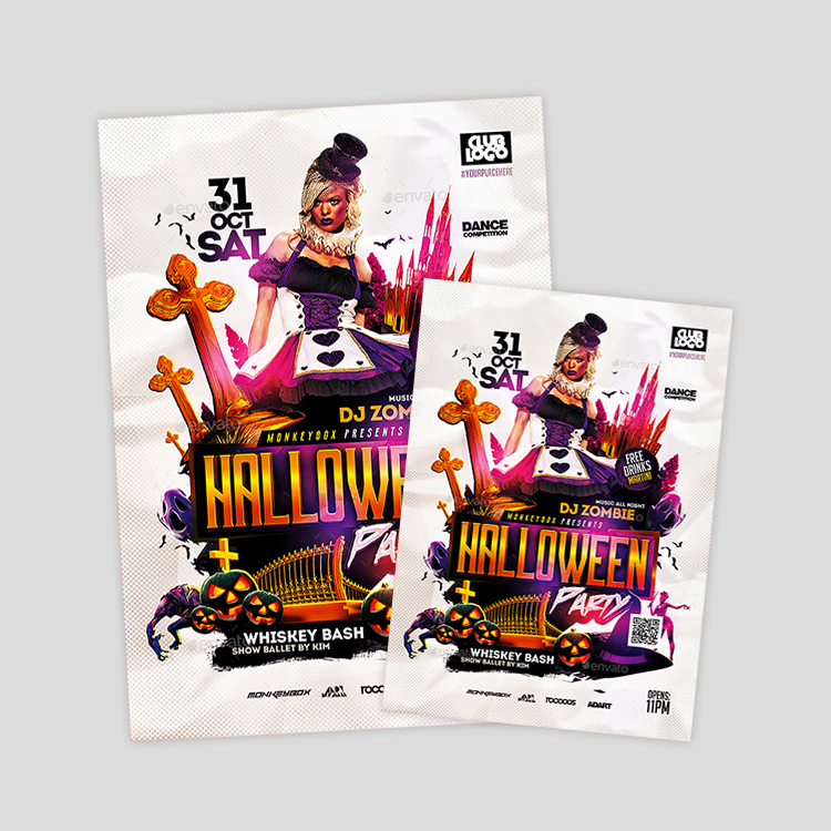 sexy-halloween-psd-flyer-design-template