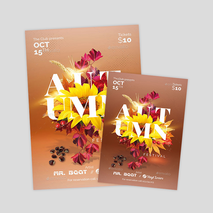 autumn-party-psd-flyer-template
