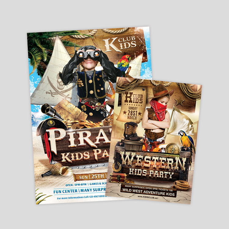 pirate-kids-flyer-design