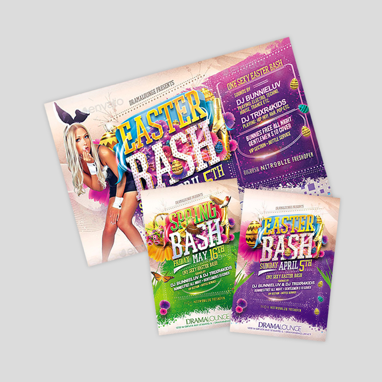 spring-bash-flyer-design
