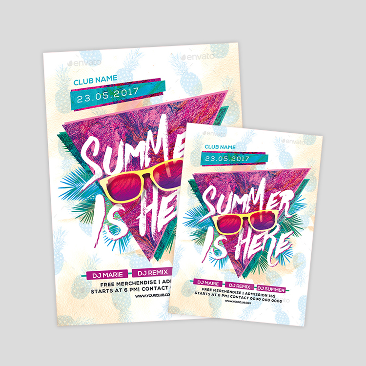summer-club-party-flyer-design