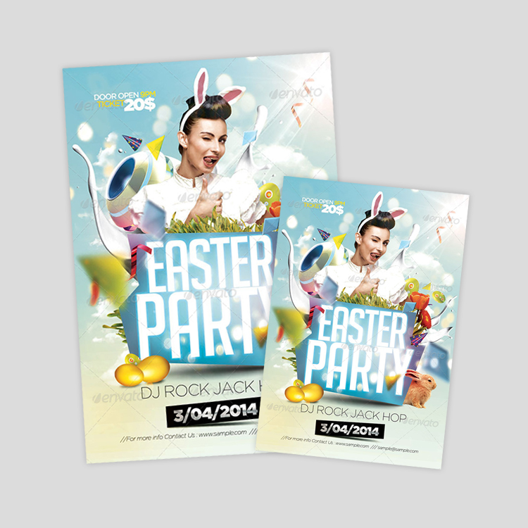 cool-easter-flyer-design