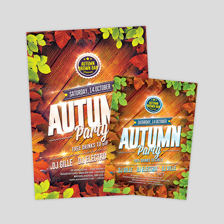 download-autumn-party-psd-flyer-template