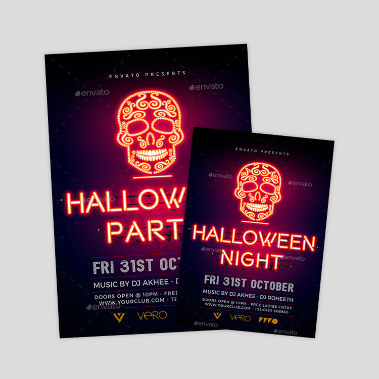 halloween-glow-party-psd-flyer-design-template