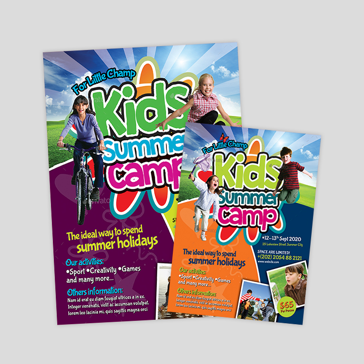 kids-activity-flyer-design