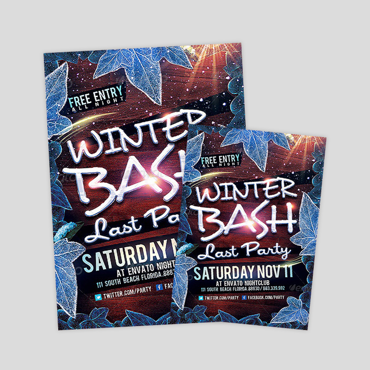 winter-bash-psd-flyer-design-template