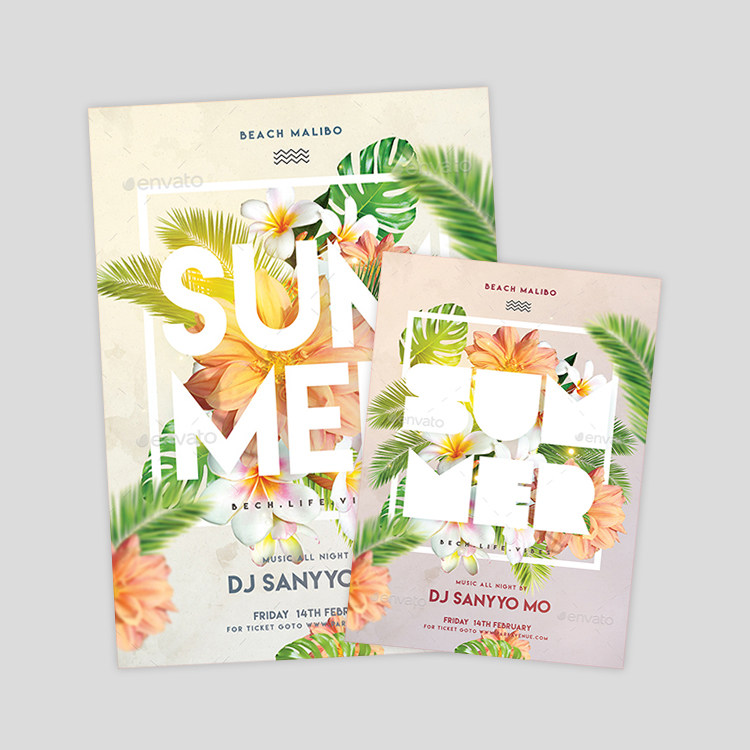 beautiful-summer-flyer-designs