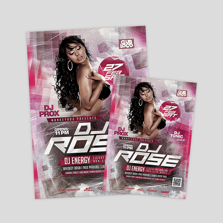 electro-dance-psd-flyer-design-template