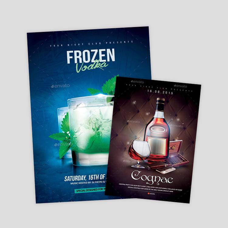 vodka-party-flyer-design
