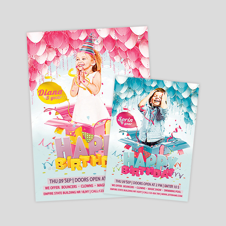kids-birthday-flyer-designs