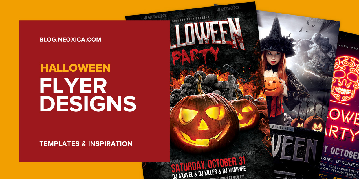Neoxica Top 12 Halloween Flyer Design Templates